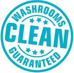 Clean Washrooms Guaranteed